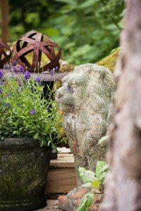 Badliv i trädgården 3