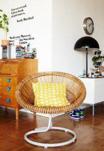 Cool retrostil hemma hos Belinda stol