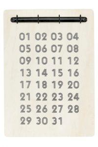 Från köksbord till hemmakontor - kalender