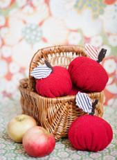 Höstpyssla till barnens rum Äppel päppel…