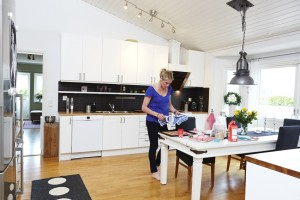 Erica Johansson kök indiskt matbord