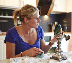 Erica Johansson auktion och loppisfynd