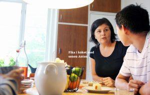 Inspiration arbetsrum - Lena i köket
