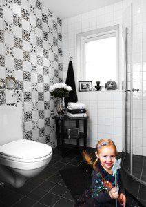Ljusa idéer för badrummet bild 2