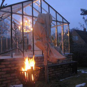 Att bygga växthus kan resultera i mysiga kvällar