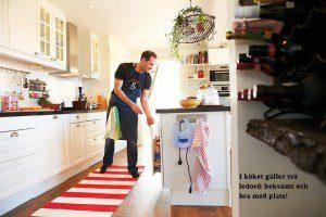 Robin Stegmar i köket