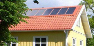 solenergi solpaneler på taket