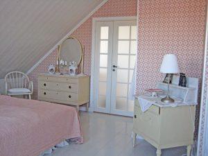 Sovrummet hos Jim och Susann i Smögen 10