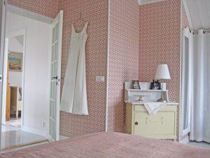 Sovrummet hos Jim och Susann i Smögen 12