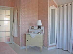 Sovrummet hos Jim och Susann i Smögen 13