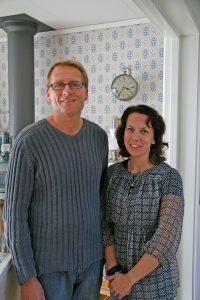 Sovrummet hos Jim och Susann i Smögen 6