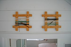 Sovrummet hos Jim och Susann i Smögen 9
