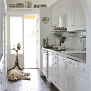 Inspiration sommarstuga - kök i fransk stil