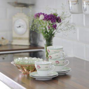 Inredning sommarstuga - Kaffekoppar