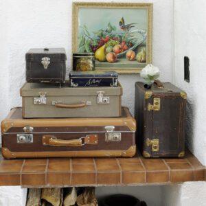 Inspiration sommarstuga - kofferter