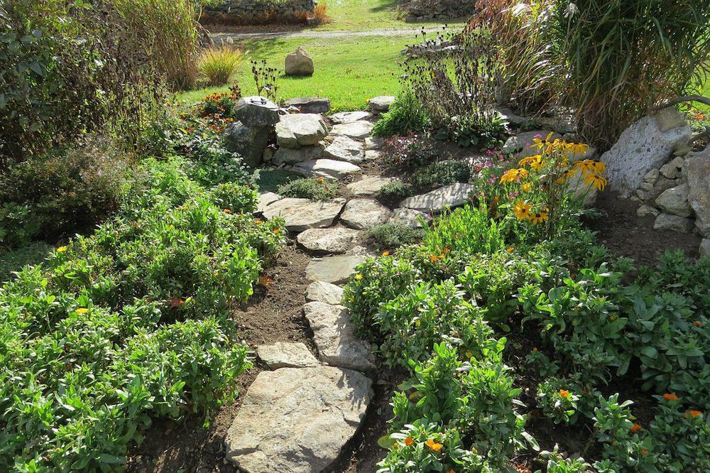 Planera trädgård - trädgårdsgolv