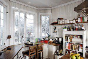 Pernilla Wahlgrens kök saknar skafferi