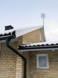 Skotta tak - alla vinklar och vrår måste skottas
