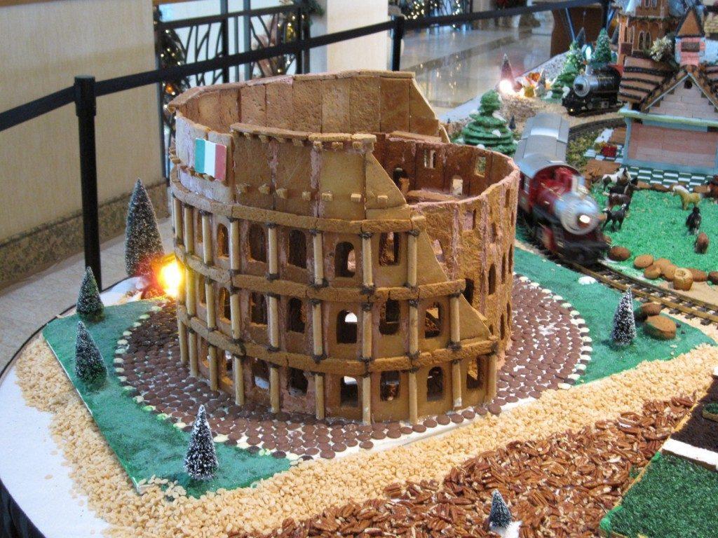 Pepparkakshus colosseum