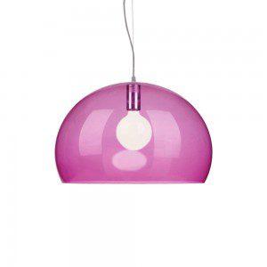 lila lampa
