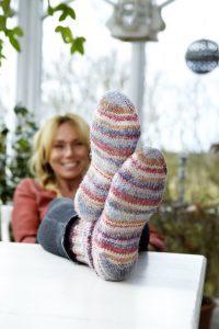 Anne Lundbergs fötter