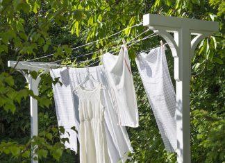 Torka tvätten ute