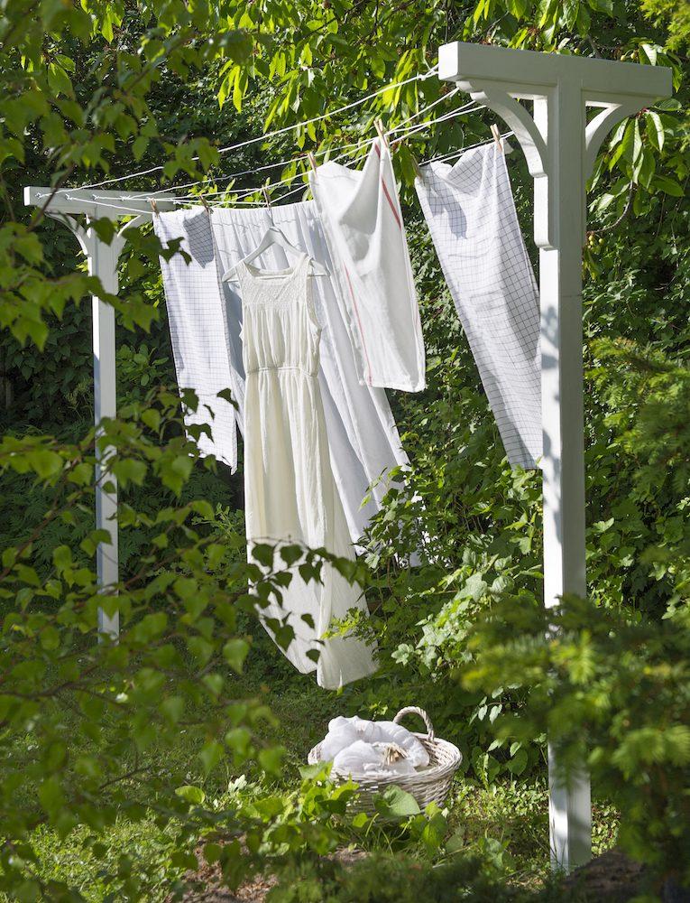 Torka tvätten ute på sommaren! Inkl. inköpslista - Villalivet