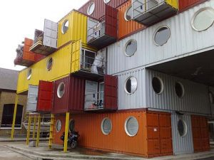 Hus av container - container city