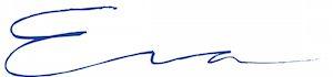 Eva Linetti signatur