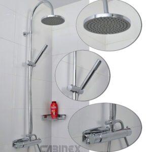 Cabinex Termostatblandare och Duschset