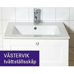 Hasselö Västervik Tvättställsskåp