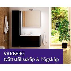 Hasselö Varberg Tvättställsskåp Högskåp