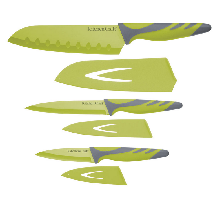 Kitchen Craft Colourworks Knivar Set med 3