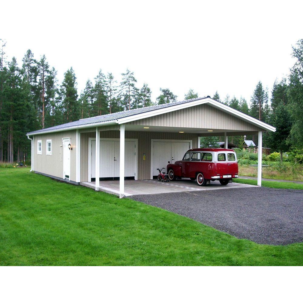 Lövångers Bygg Garage med Carport 7