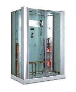 Luxway InfraDusch Aqua silver 2 pers