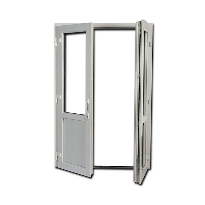 Menta Fönster Öppningsbar utåtgående pardörr i pvc typ 51
