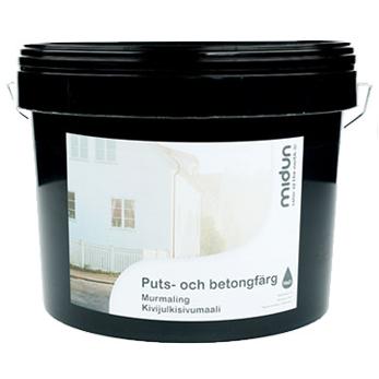Välkända Midun Puts & Betongfärg - Produktguiden ED-68