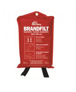 Nexa Brandfilt 120x180 CM Röd