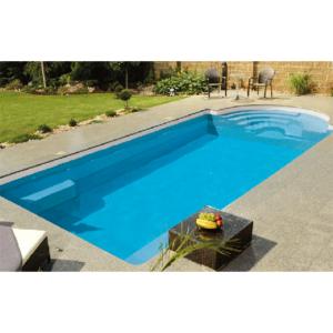 Pool Sweden Compact Topaz med lågt Pooltak