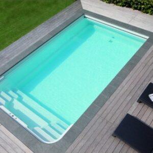 Pool Sweden RivieraPool Modena Style med lågt Pooltak POPP-Elegant