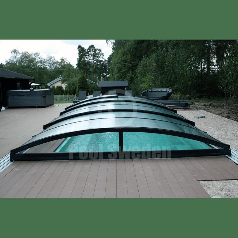 Pool Sweden RivieraPool Modena Style med lågt Pooltak POPP-Elegant ...