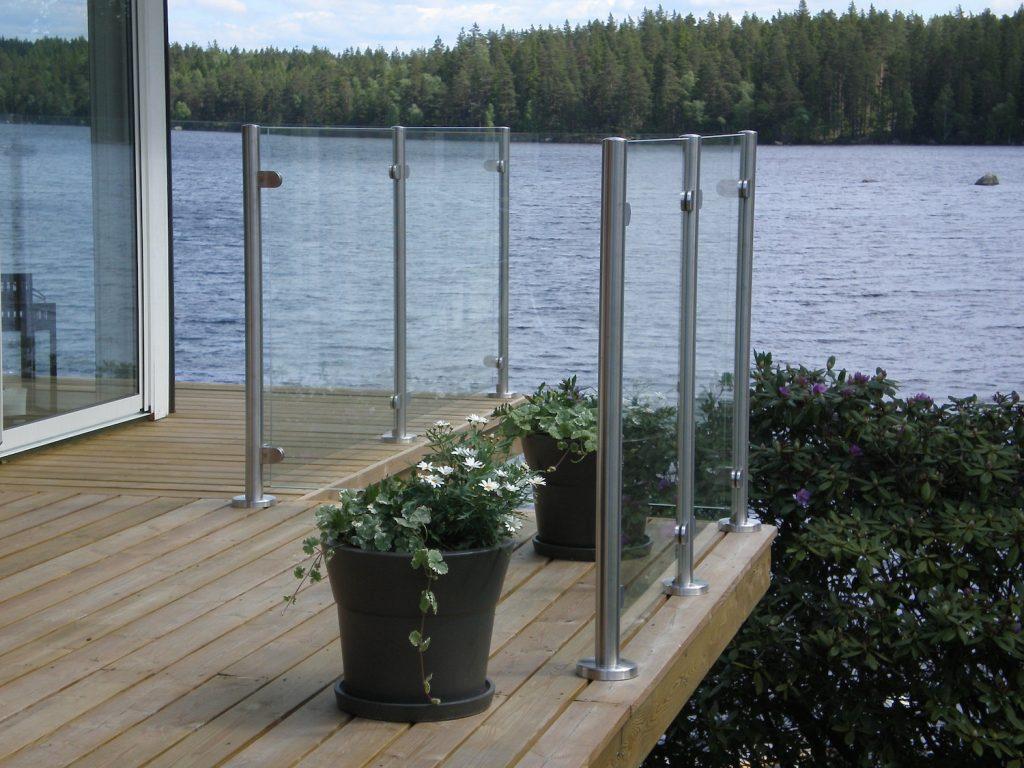 Räcken - Snygga räcken inomhus och utomhus