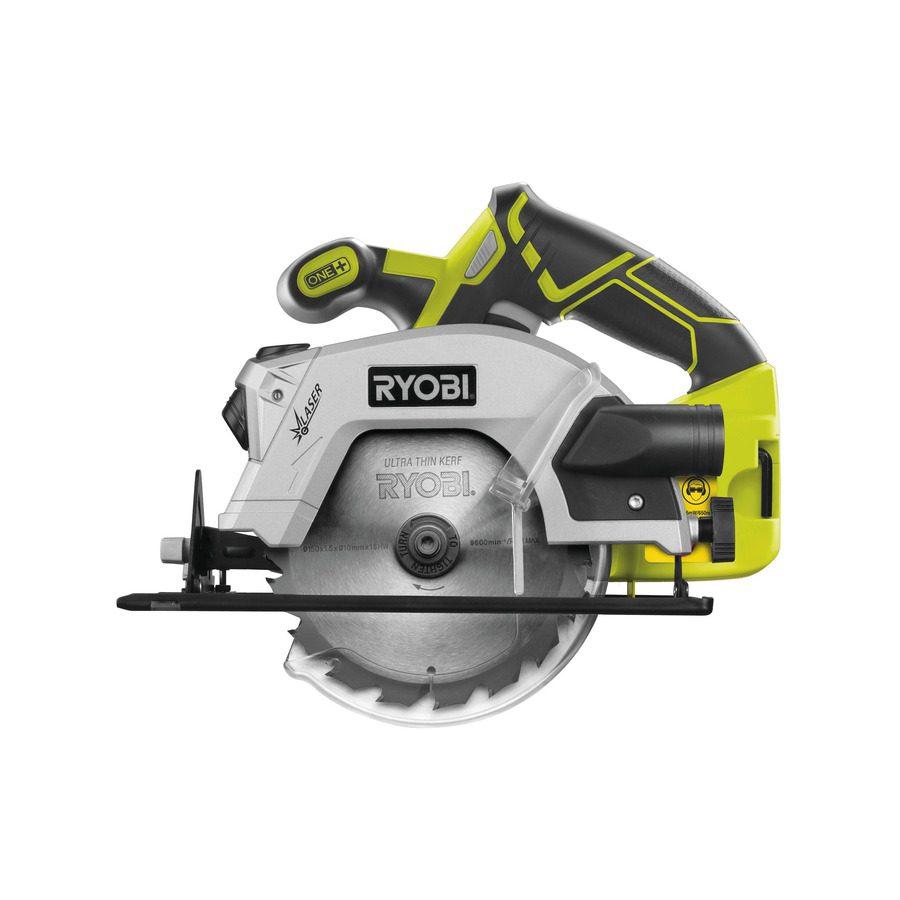 Ryobi 18V Cirkelsåg Med Laser