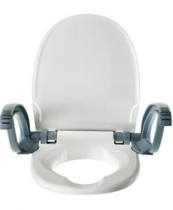 Seniortoo Toalettsitsförhöjning 2 CM Med Armstöd