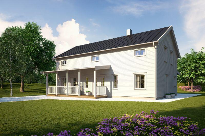 Sjömarkenshus Villa Hornavan