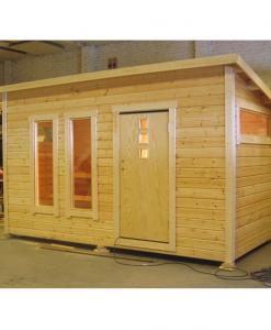 Träbyggarna i Kalix Bastustuga 15 m2 Funkis