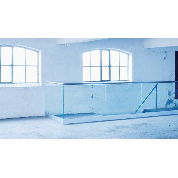 Vetro Easy Glas- Toppmonterad U-skena