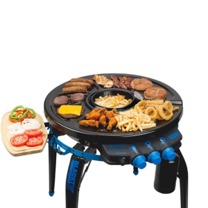 BBQ World BlackTop 360 Portabel gasgrill