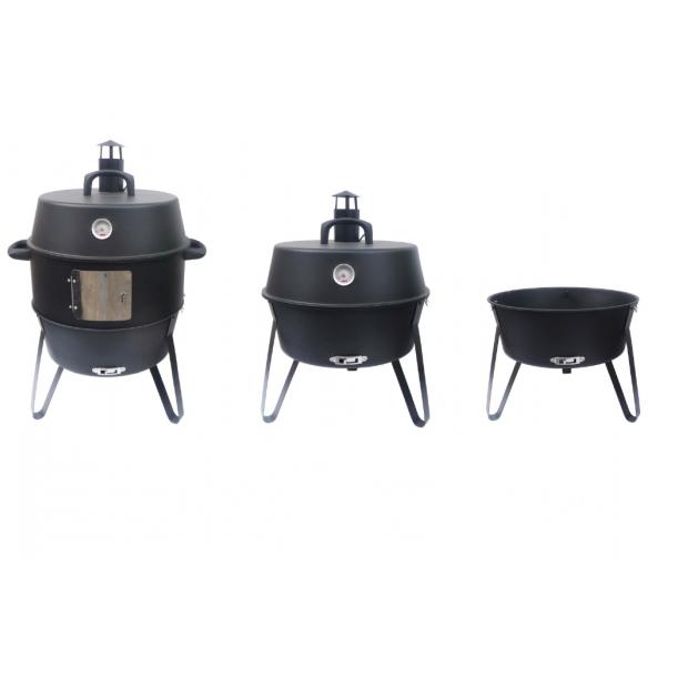 BBQ World Pan Gourmet Smoker