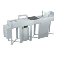 BBQ World oneQ Set Rostfritt